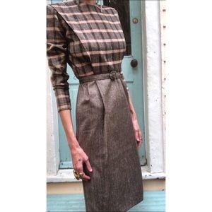 Vintage dress with matching belt